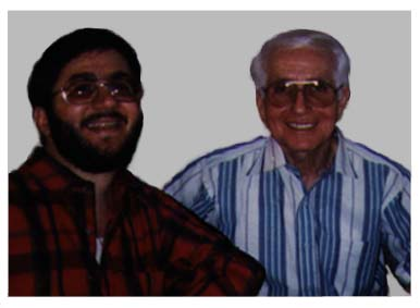 My father Fred and I, Howard in a recent photo